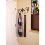Evelots Door Draft Stopper-Metal Clips-No Repositioning-Stop Cold Air-3 Feet