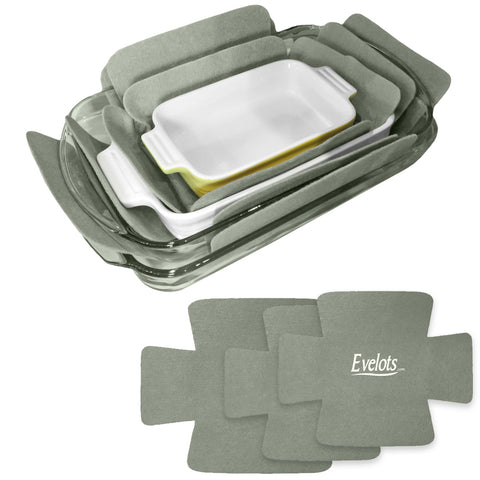 Evelots Bakeware Pan/Dish Scratch Protector-Large Sizes-Thick Polyester