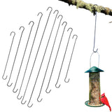 Evelots Tree Hanging Hook-Metal-Up to 24.8 Inch-Bird Feeder/Plants-No Tools