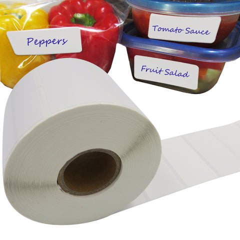 Evelots Food Labels-Freezer/Fridge-Blank-Removable-Wrap/Aluminum/Plastic-1000