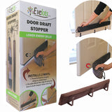 Evelots 2 In 1 Door Draft Stopper, Magnets For Steel Door-Clips For Regular Door