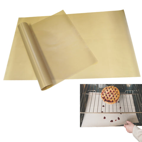 Evelots Oven Liner-Extra Large-Non Stick Fiberglass-Reusable-400 Degrees