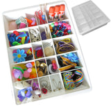 Evelots Drawer Organizers- Adjustable Dividers-Kitchen-Bathroom-Office