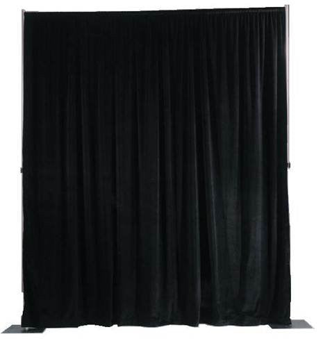 Curtains Ideas black velour curtains : 16 ft. high X 52 in. Wide - Black Cotton Velour Drapes, Stage ...