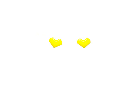 Colorful Heart Stud Earrings