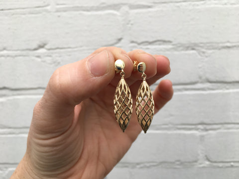 Nouvel Earrings - Gold Plated