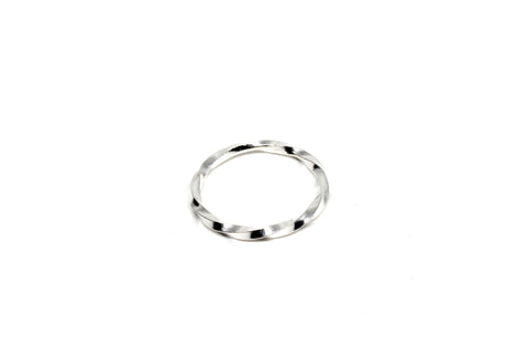Twist Fat Ring - Silver