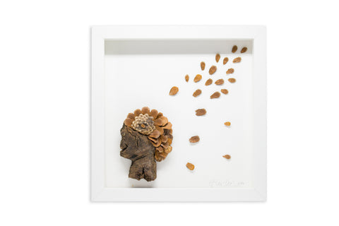 Framed Sculpture, Cacique (SOLD)