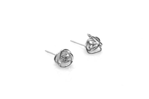 Chaos Earrings - Silver