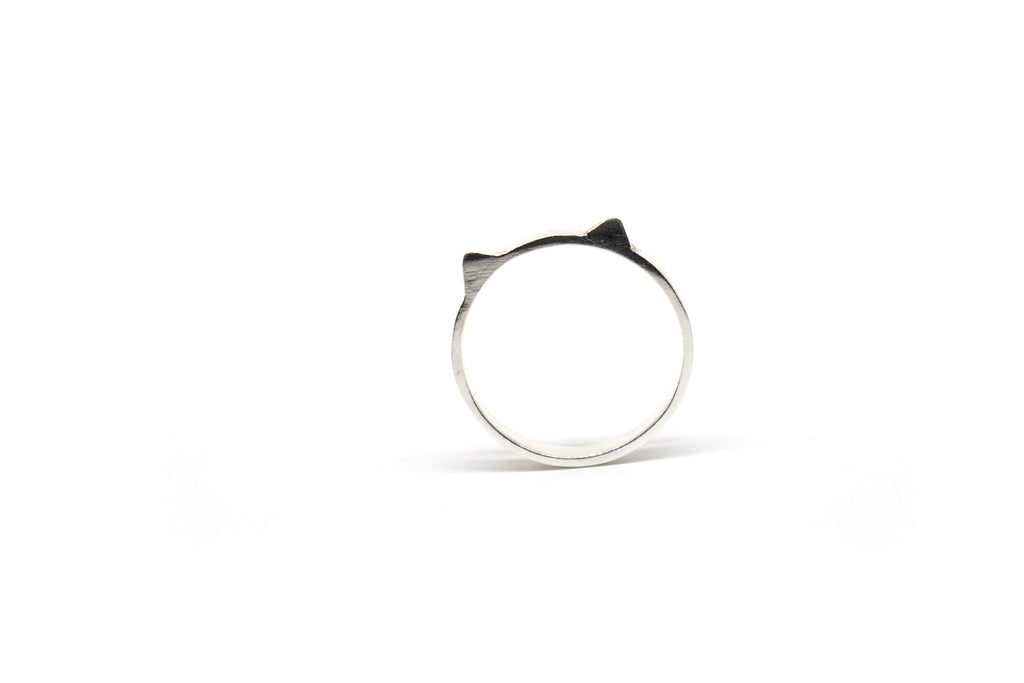 Cat Ring - Silver