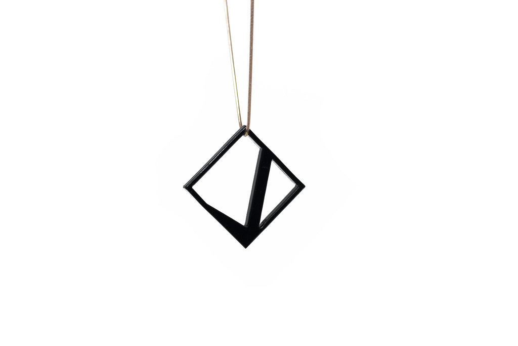 Cubic Necklace - Acrylic
