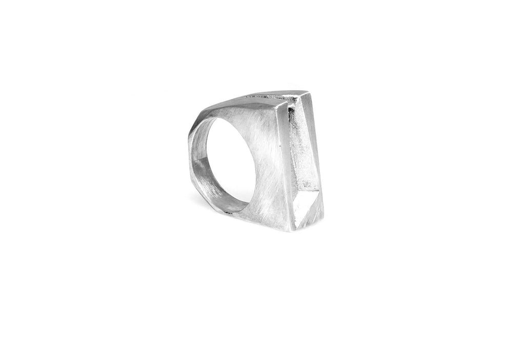 Facet Ring - Silver
