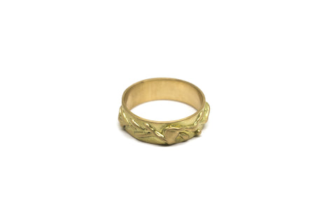 Tree Ring - Gold Plated
