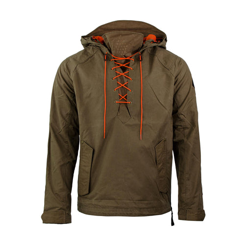 Men S Anorak Jacket Waxed Canvas Pullover Alps Amp Meters