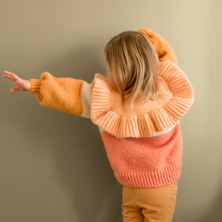 Lollipop Ruffle Top (1 - 14 år) ★★☆