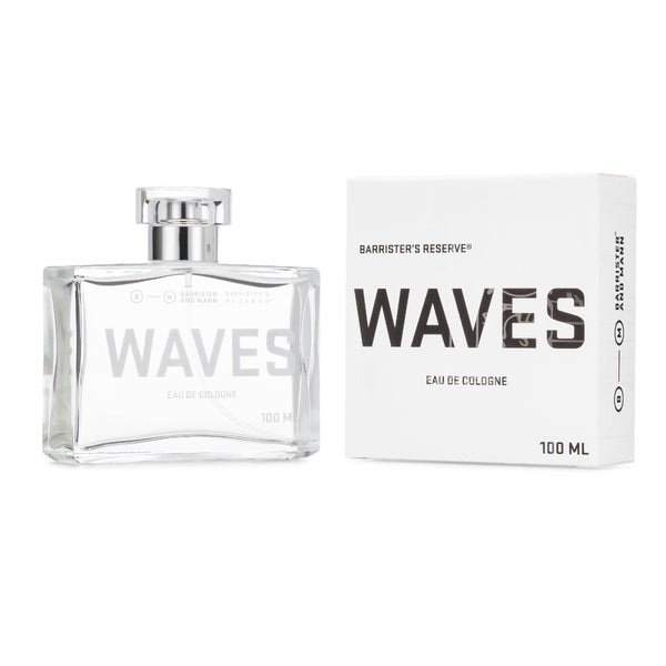 Barrister's Reserve® Waves Eau de Cologne, 100 ml