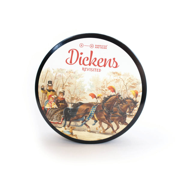 Dickens, Revisited Shaving Soap (Seasonal)(Excelsior Base)