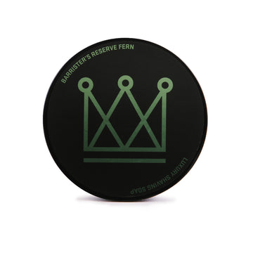 Barrister's Reserve® Fern Shaving Soap - Barrister and Mann LLC