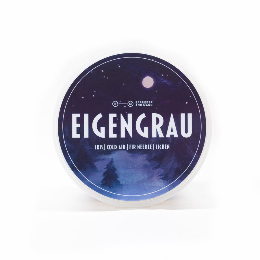 Eigengrau Shaving Soap - Barrister and Mann LLC