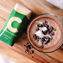 Recipe Of The Week – C Coconut Water Frappe