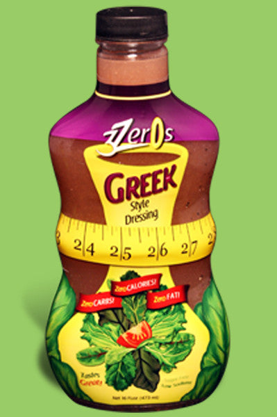 3 Zeros Greek Dressing