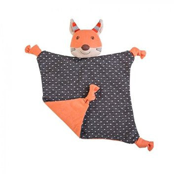 Organic Farm Buddies Blankie Frenchy Fox - Posh Babies