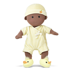 Apple Park Organic Dolls Cream Baby Boy