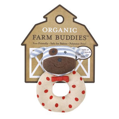 Organic Farm Buddies Rattle Boxer Dog