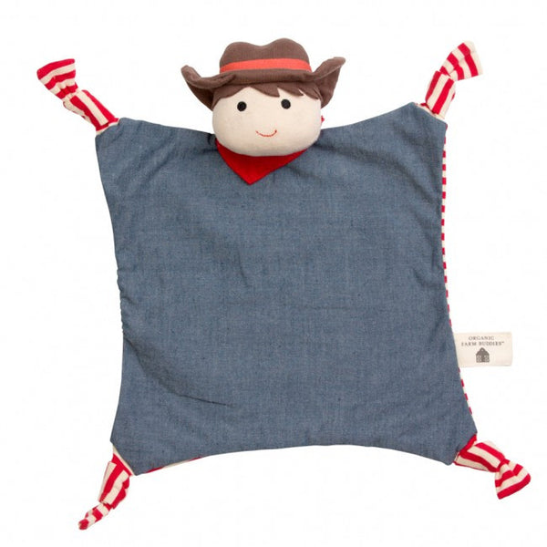 Farm Buddies Blankie Barnyard Billy - Posh Babies