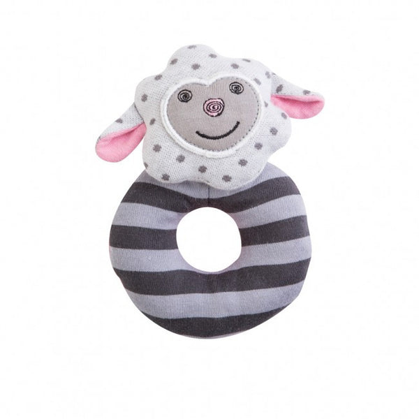 Organic Farm Buddies Rattle Dreamy Sheep - Posh Babies