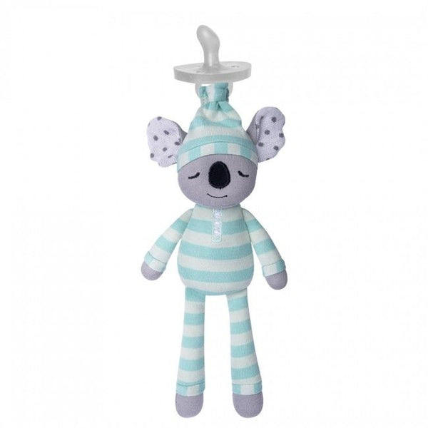 Organic Farm Buddies Pacifier Buddies Kozy Koala