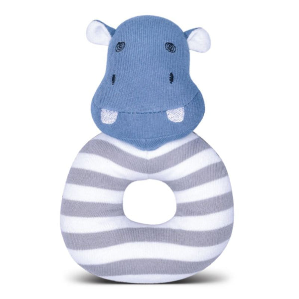 Organic Farm Buddies Rattle JoJo Hippo