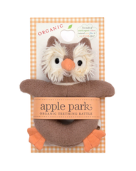 Apple Park Picnic Pal Soft Teething Toy Owl
