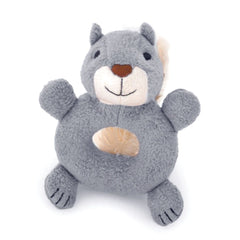 Apple Park Soft Teething Rattle Squirrel