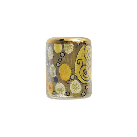 3C Studio Art Nouveau Bead - Circle and Swirl (R14)