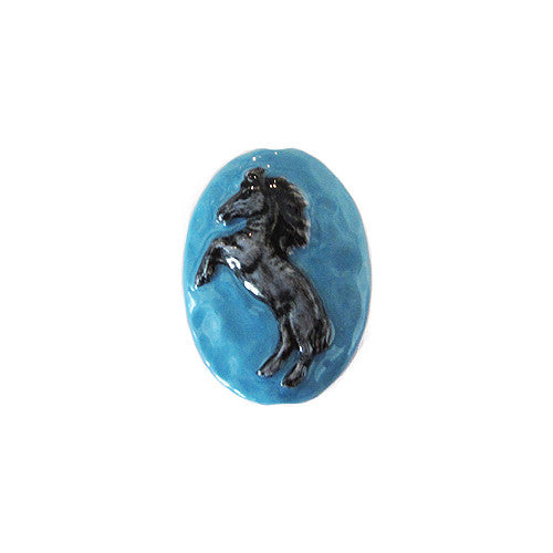 3C Studio Grey Horse Bead