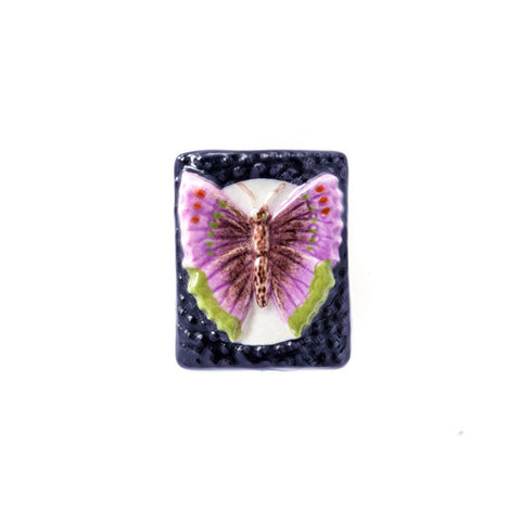 3C Studio Purple Butterfly Bead - Small