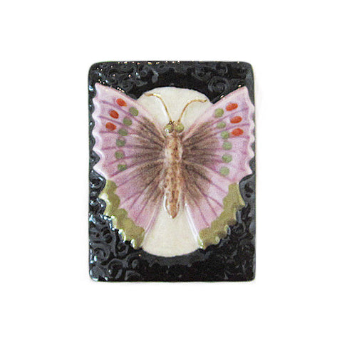 3C Studio Purple Butterfly Bead - Large
