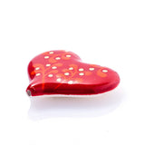 3C Studio Red Ornament Heart Bead