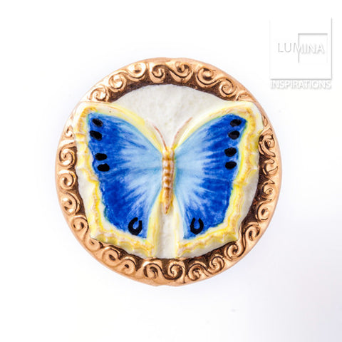 3C Studio Blue Butterfly Bead