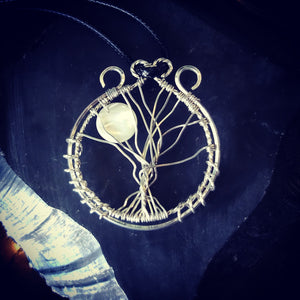 Full Moon & Tree of Life Pendant