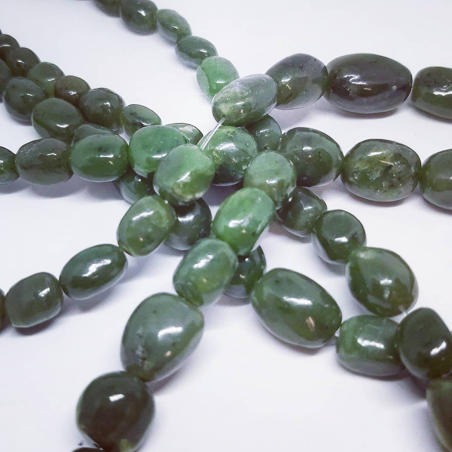 BC Jade Beads (Tapered)