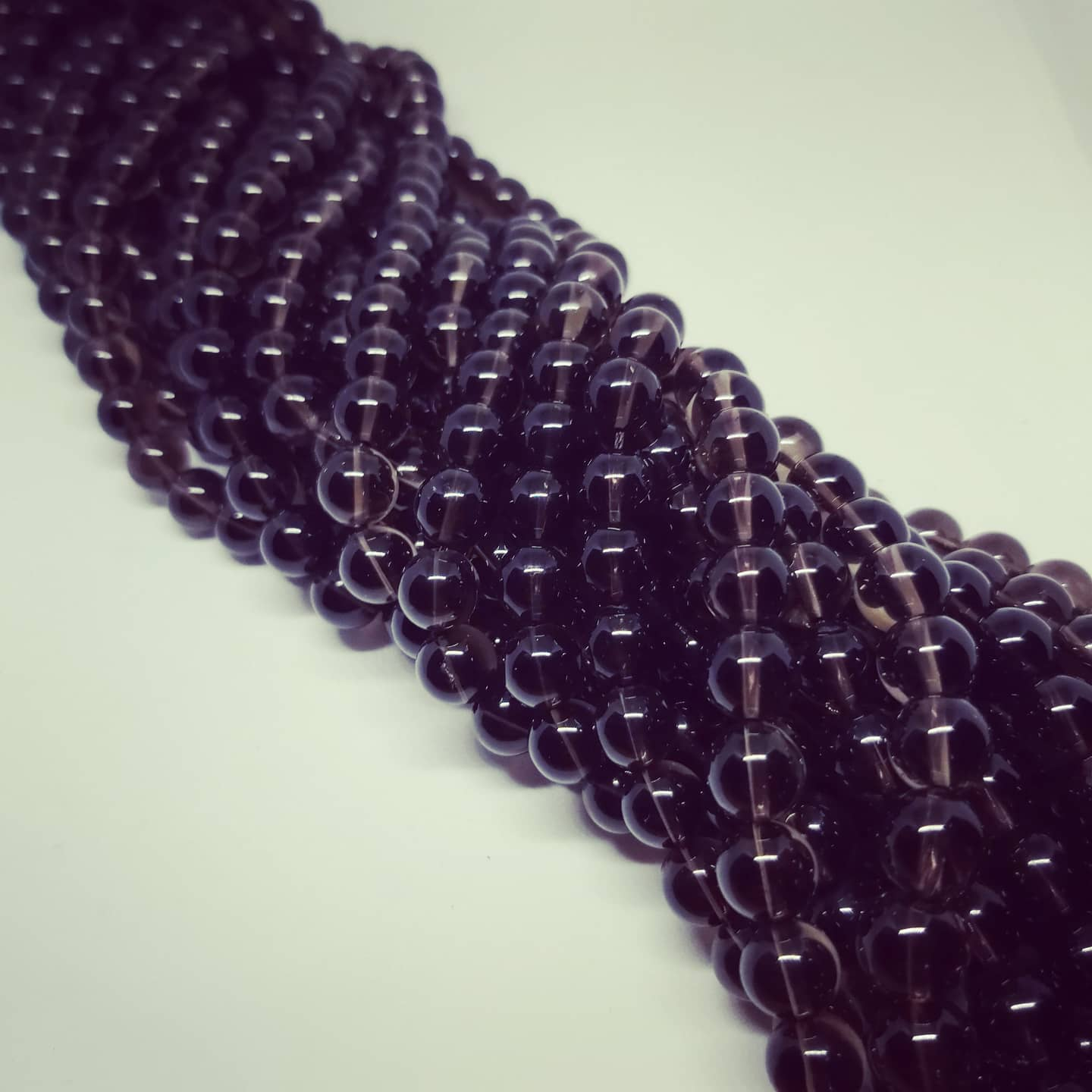 Smoky Quartz Beads (10mm)