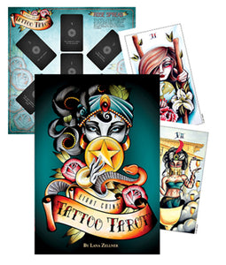 Eight Coins -Tattoo Tarot Deck