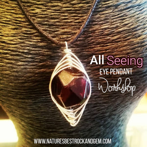 All Seeing Eye Pendant Workshop