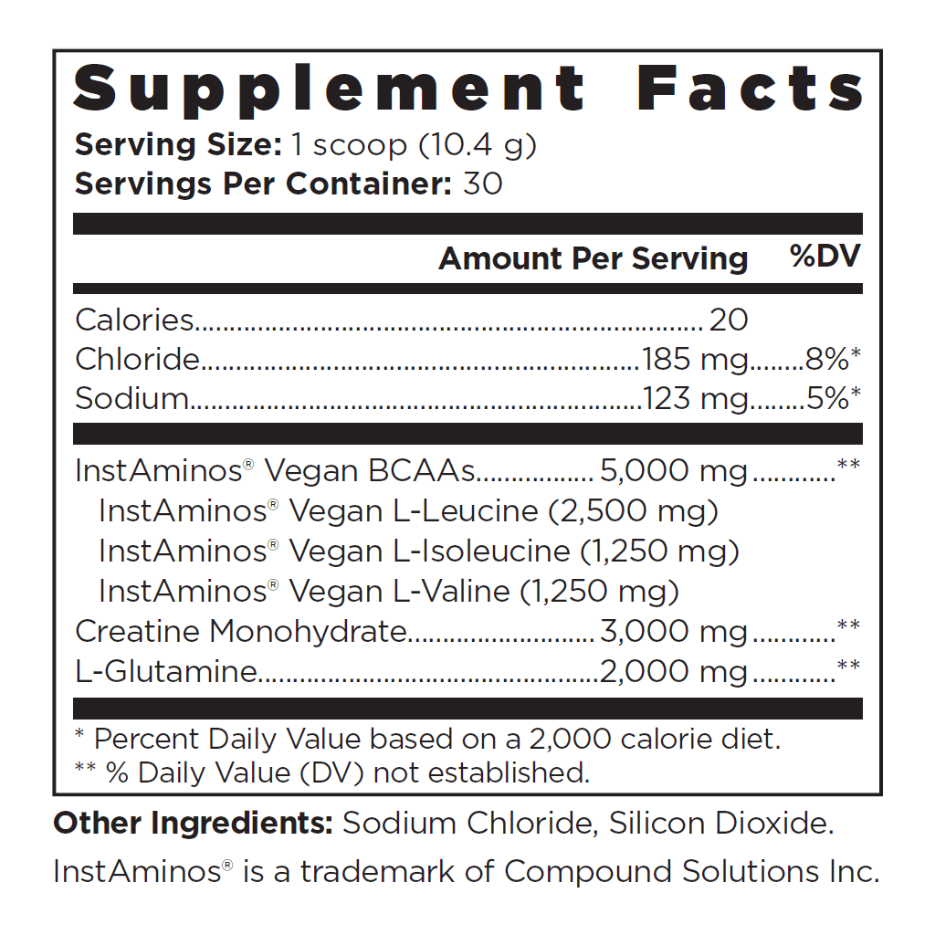 Vintage Build™ Unflavored - Supplement Facts
