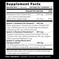 Real Keto™ Fat Burner Supplement Facts