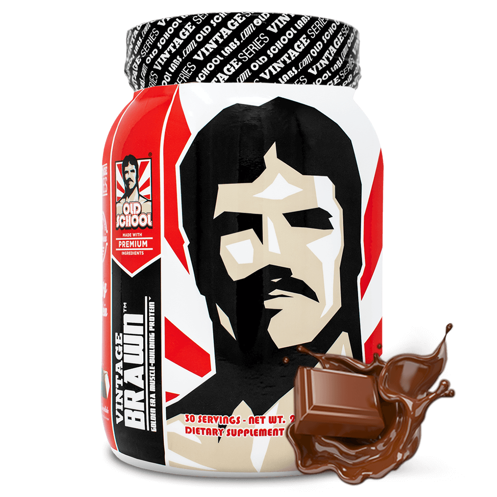 Vintage Brawn™ - Muscle-Building Protein Powder - Old School Labs™