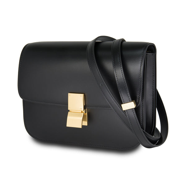 Céline Medium Classic Box Calf Leather Black