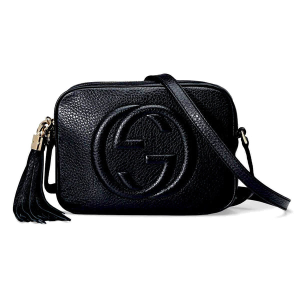 Gucci GG Soho Disco Black Bag